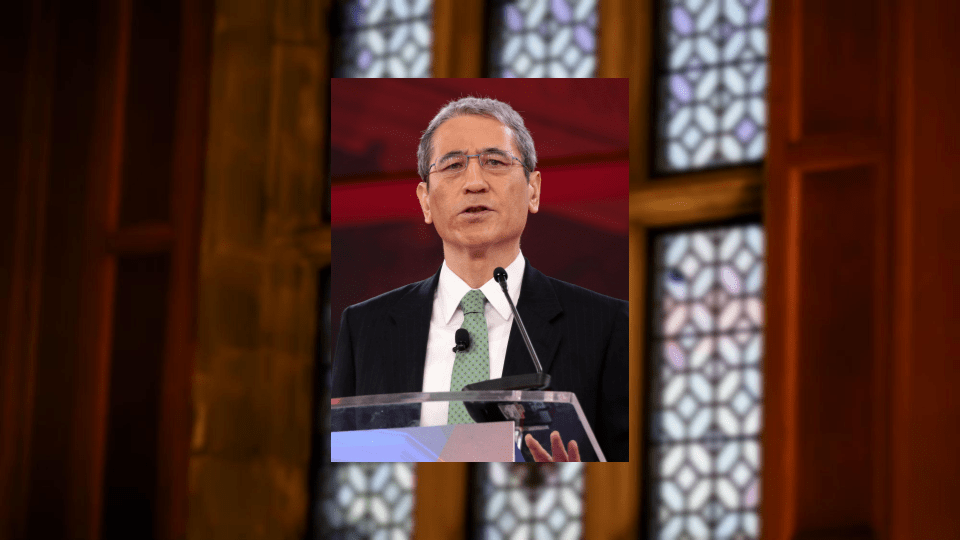 The debate featured Gordon Chang, a columnist and attorney.