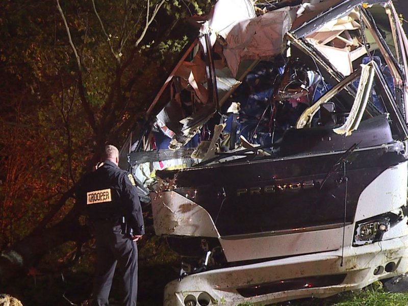 A 33-year-old Cornell alumna was killed Sunday when a Big Red Bullet bus crashed off of a Pennsylvania highway on its way from Ithaca to New York City.