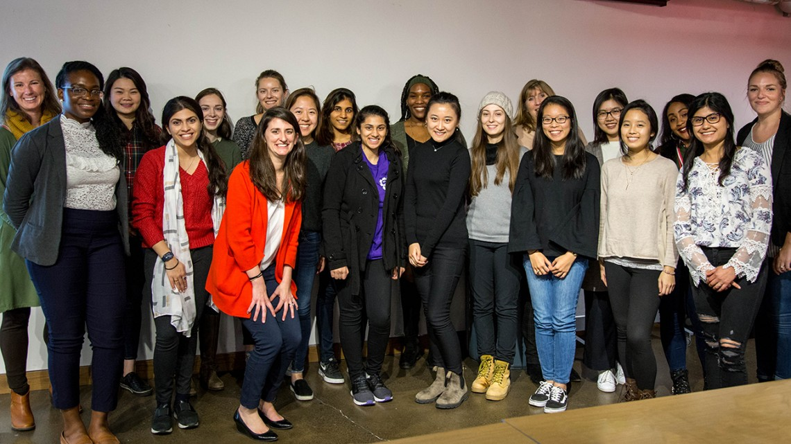 Entrepreneurship program W.E. Cornell accepted a total of 22 women to its first cohort.