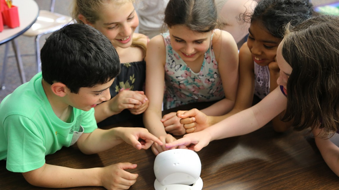 The Air Quality Egg is used to promote data literacy and science.