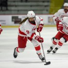 Following a grueling eight consecutive games on the road, the Red returns to Lynah — where the team still enjoys a flawless record — to take on top-ranked upstate rivals, Clarkson and St. Lawrence.