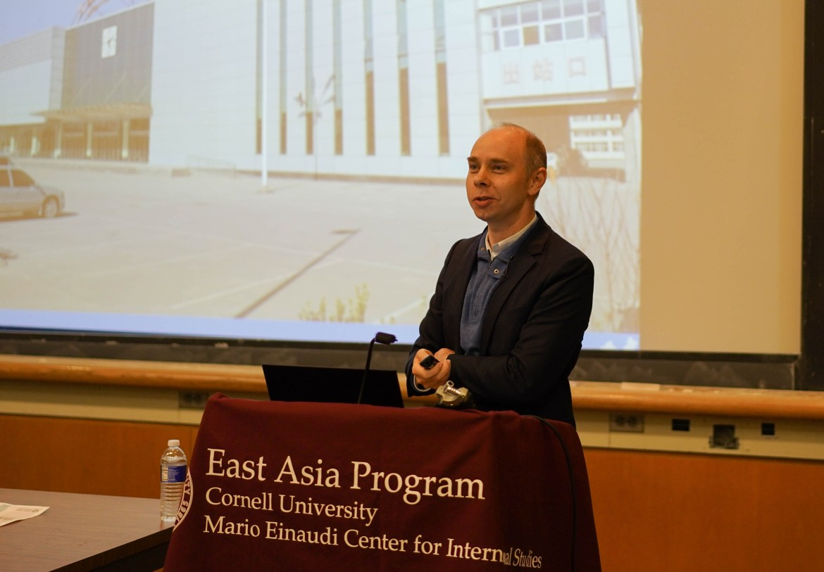 Professor Jeremy Wallace lectures on complexities of China's industrialization.