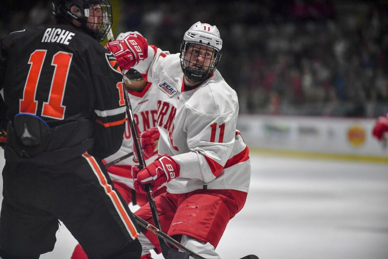 Sophomore forward Kyle Betts was the orchestrator of helping bring the three other Power River alumni to Cornell.