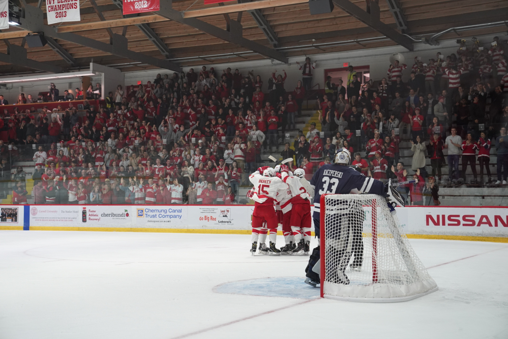 ECAC: No. 18 Cornell Downs Yale For 1st Win Of 2018-19