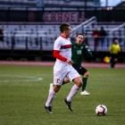 Freshman midfielder Jonah Kagen scored the Red's lone goal of the night,