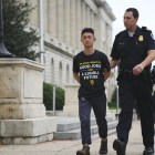 Benjamin Finegan '19 was one of 50 individuals arrested for occupying the office of Rep. Nancy Pelosi (D-Calif.). He was inspired to protest for climate change after taking BIOEE 1540: Introduction to Oceanography.
