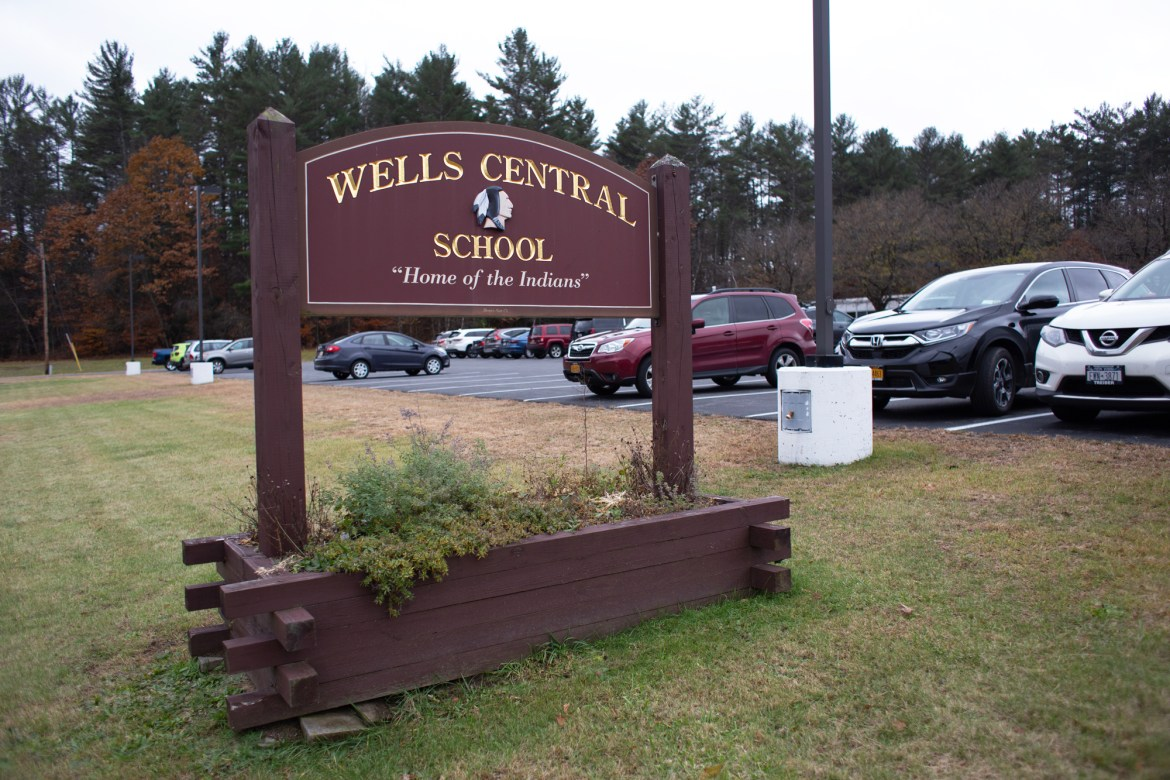 Wells Central school is one of only three high schools in Hamilton County.