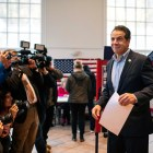 Governor Andrew Cuomo (D-N.Y.) defeated Republican opponent Marc Molinaro, besting the Dutchess County executive by a wide margin.