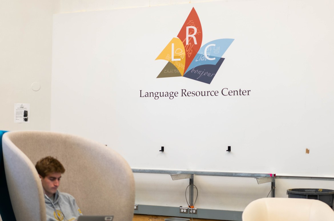 Prof. Barry Strauss '74 produces his podcast about ancient history, Antiquitas, in the Language Resource Center. The podcast has received 1,600 listens in three weeks.