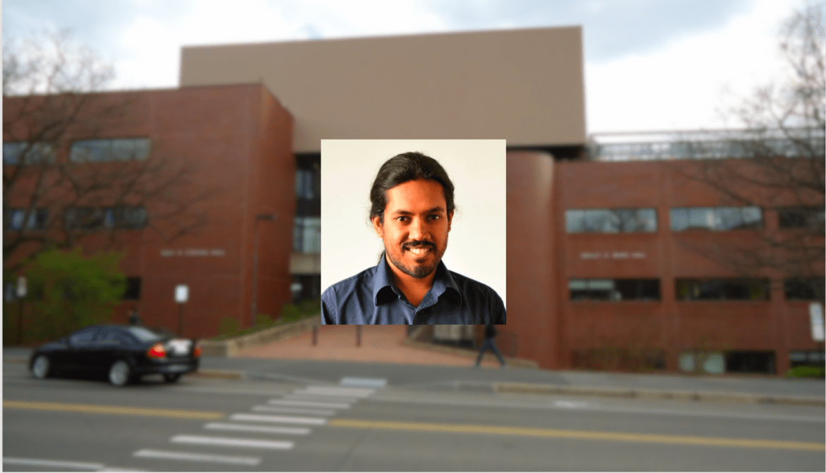 Research associate Vikram Gadagkar won the Peter and Patricia Gruber International Research Award for his research on songbird error detection.