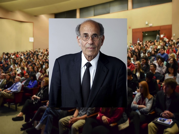 Nobel Prize laureate Richard Axel will speak in Kennedy Hall's Call Auditorium on Nov. 15.