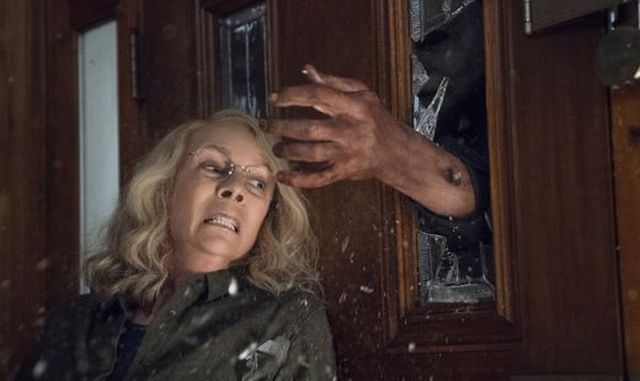 Laurie Strode (Jamie Lee Curtis) has not given up in the new Halloween.