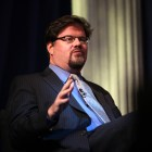 Jonah Goldberg speaking at the 2012 CPAC in Washington, D.C.