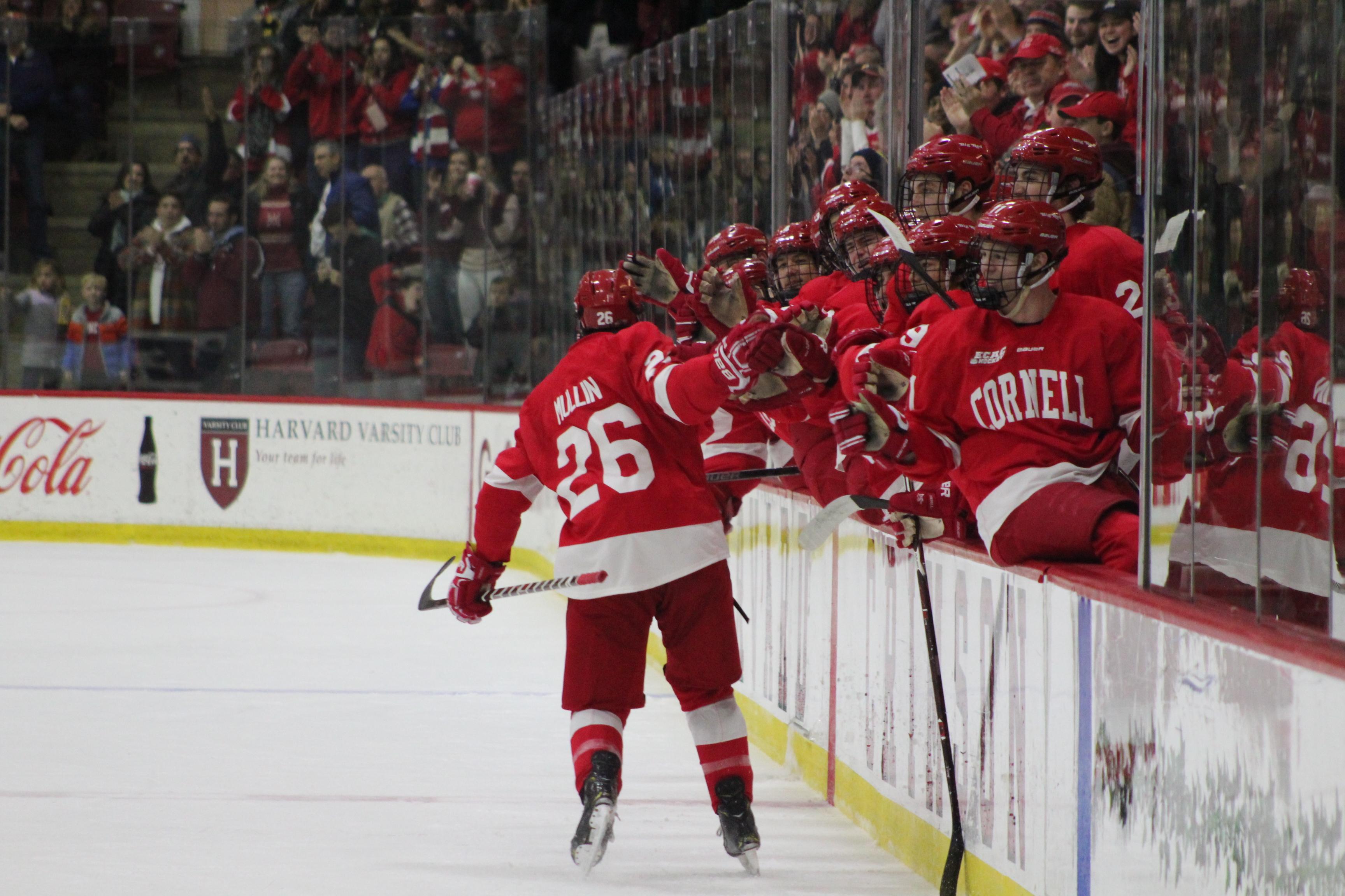 ECAC: Injury-Depleted No. 16 Men's Hockey Earns Redemption Win At Harvard