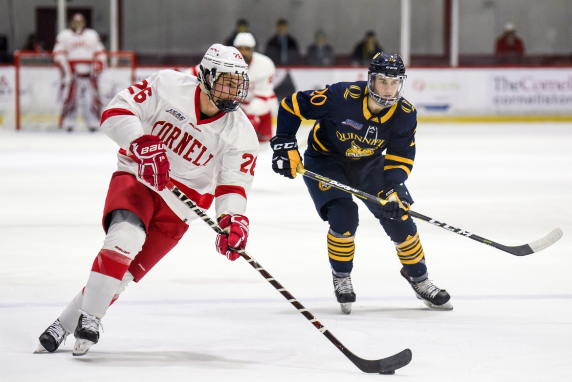 Cornell hasn't lived up to its sky-high preseason expectations 11 games into the season. The Red starts its second half with a pair of key ECAC games.