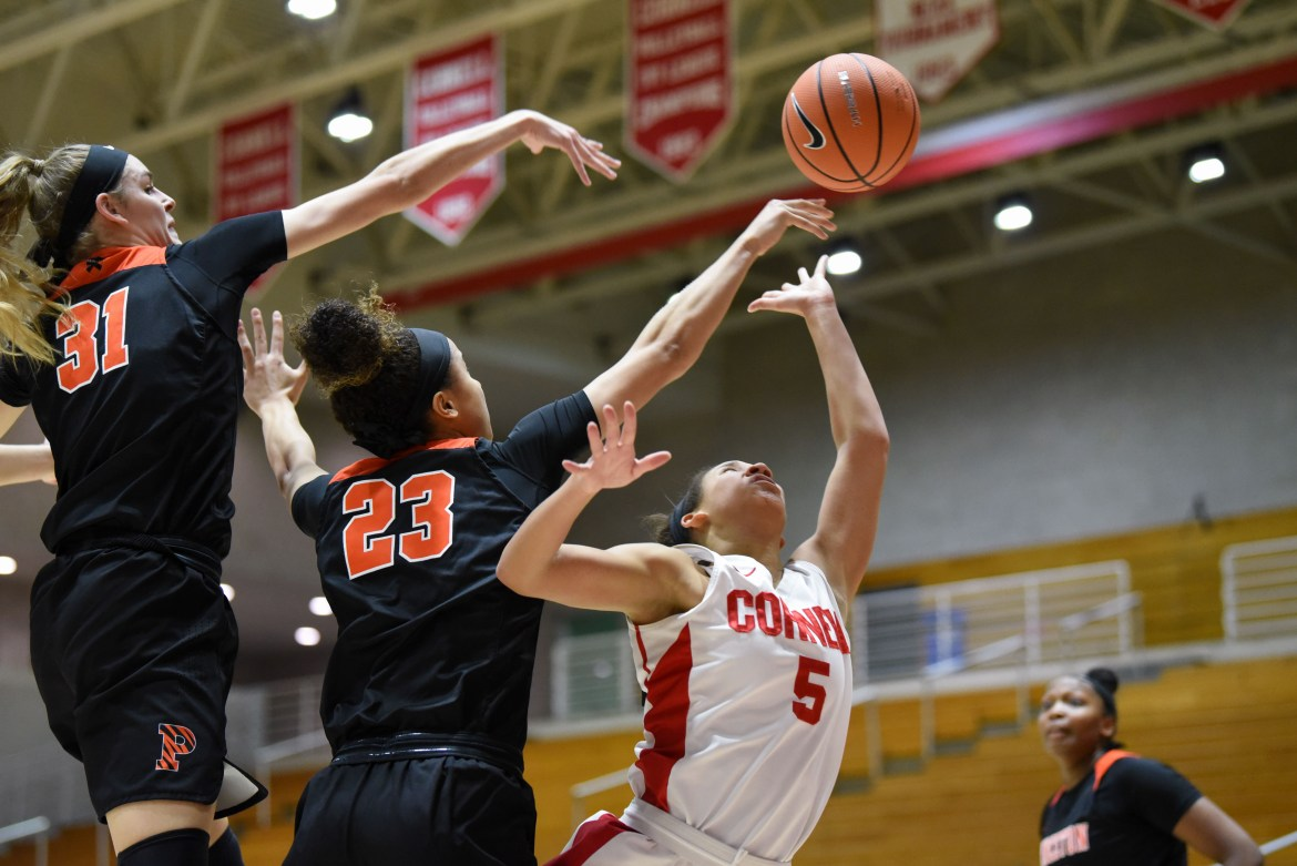 Cornell's dominant third quarter was not enough to make up for a lethargic first half and an anemic shooting percentage from the floor.