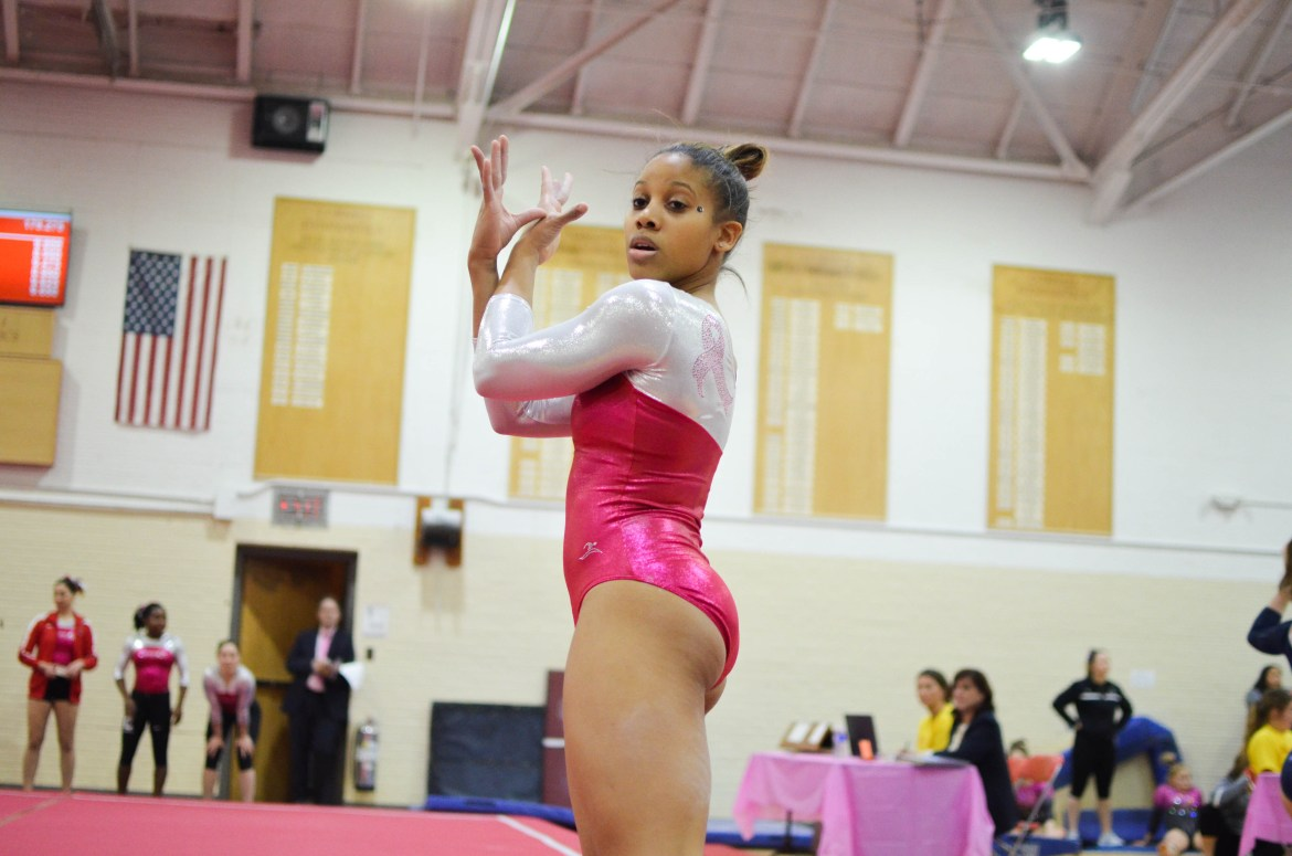 With some athletes still recovering from injuries, the Red started its season with two last-place finishes on the road.