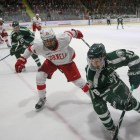 Ice Hockey vs. Dartmouth on Nov .11, 2017 ( Michael Wenye Li/ Sun Assistant Photography Editor)