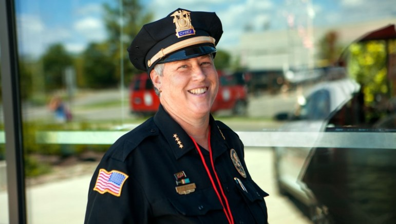 Kathy Zoner, the outgoing Cornell Police chief.