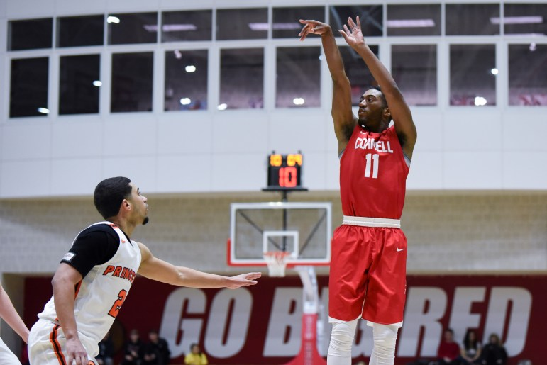 Cornell couldn't quite knock off the Tigers after beating Penn the night before.