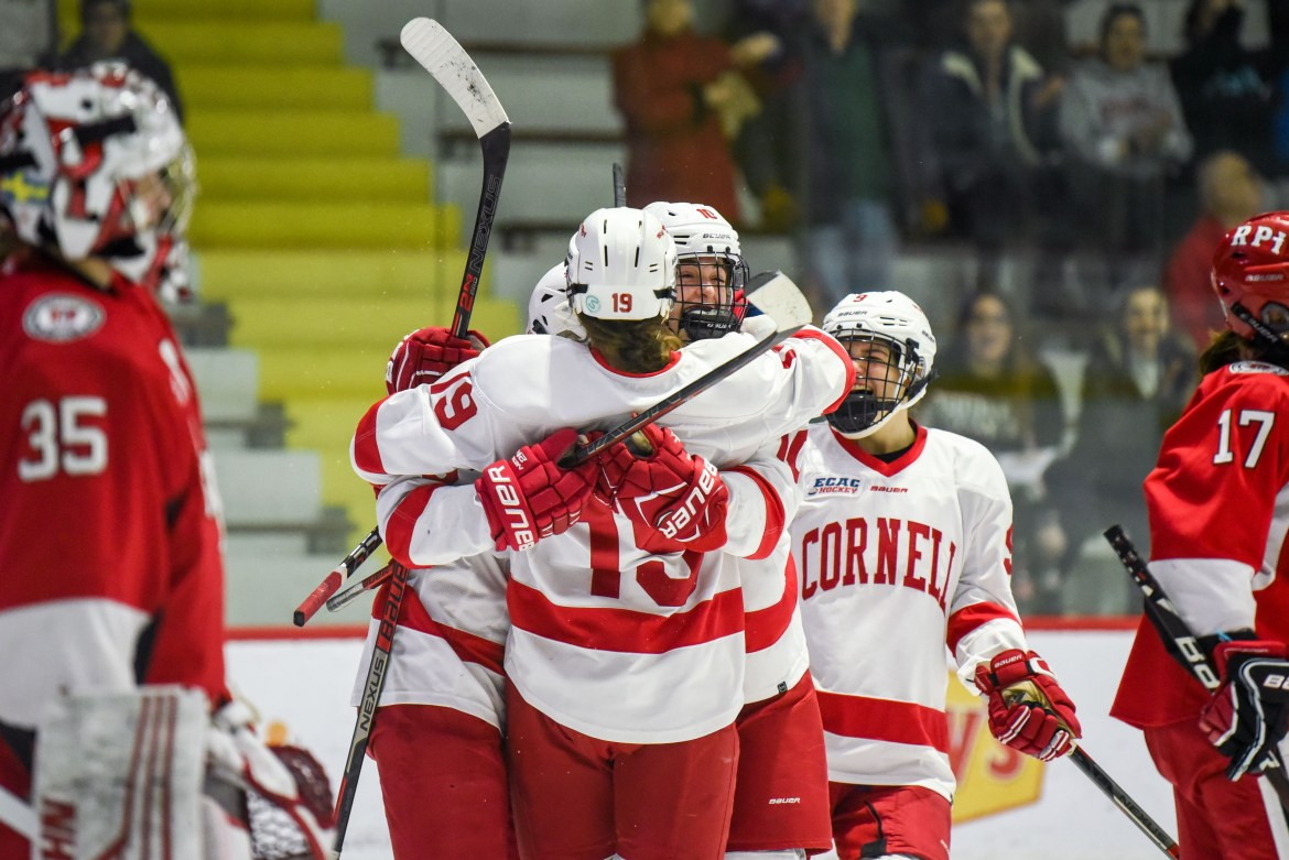 The six-year regular season title drought has ended for Cornell.