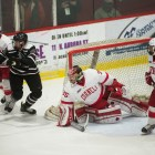 Matt Galajda earned his second shutout of the season in Cornell's 4-0 win.