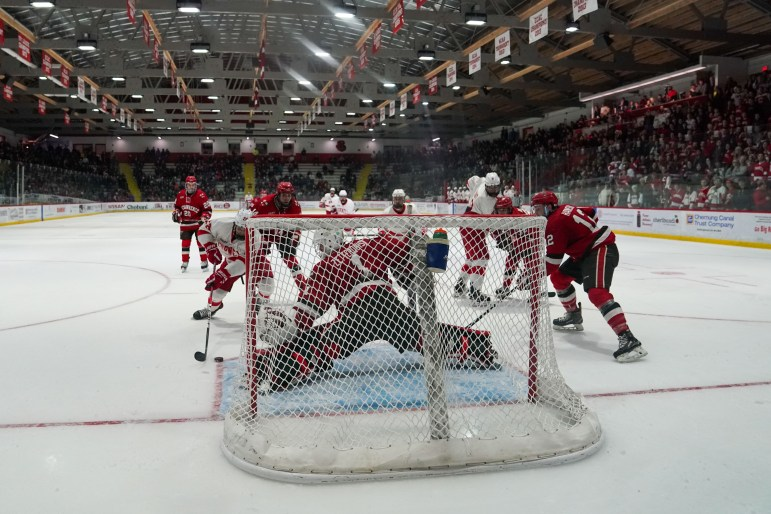 Cornell will see if its 3-1 home win against the downtrodden Saints will translate to the road.