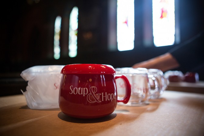 Cal Walker, who has spoken at the Soup and Hope Series before, will discuss sources of hope in his life
