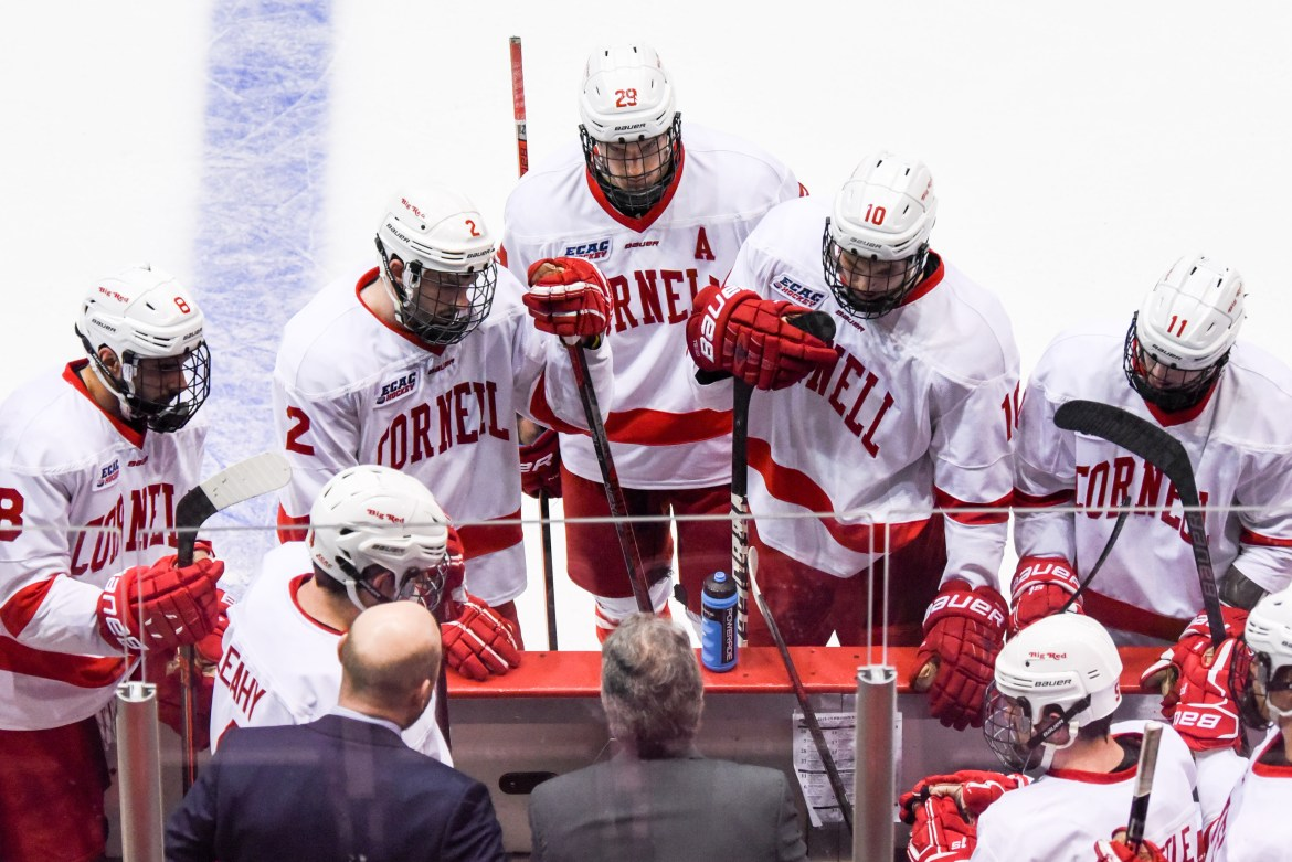 Cornell men's hockey takes on Clarkson — led by former Cornell assistant coach Casey Jones '90 — in the ECAC championship game.