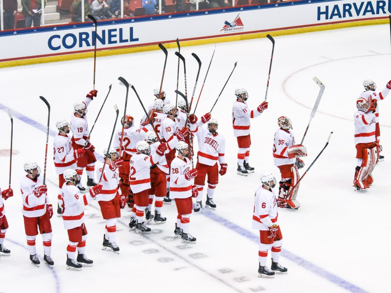 Cornell is heading to the NCAA Tournament for the third straight year.
