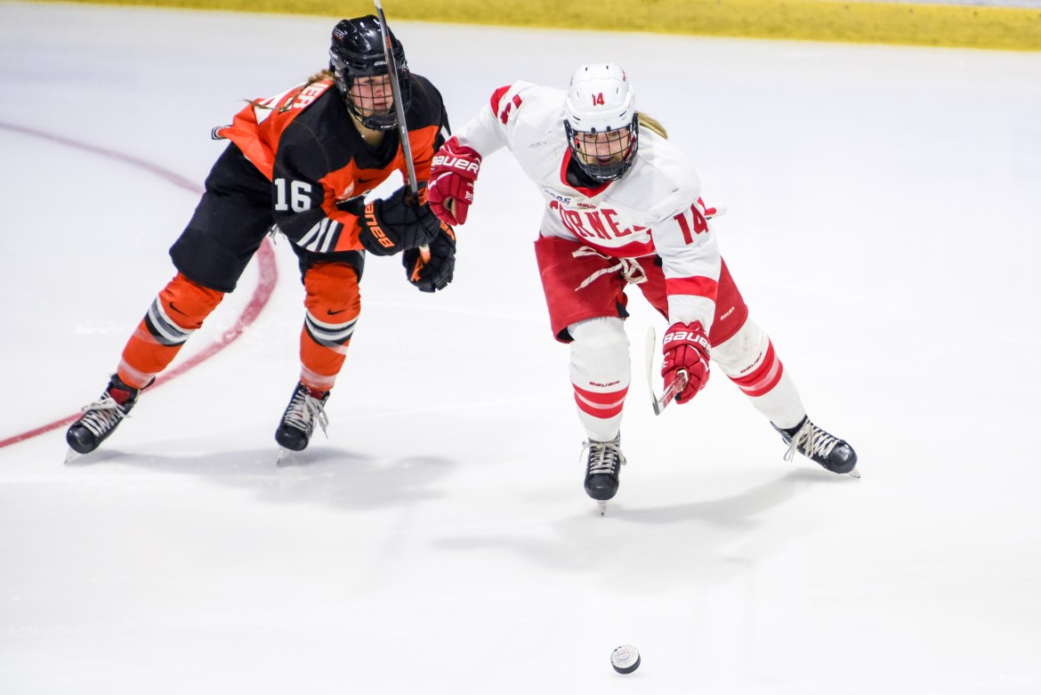 Cornell faces a higher-seeded opponent on the road in the NCAA Tournament.