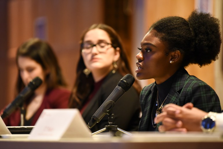 Latoya Francis '22 is the only freshman candidate this year, but she argued that her class standing shouldn't discount her.