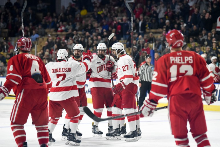 Cornell lost to B.U. in last year's NCAA Tournament, but the game marked an improvement from its first-round loss in 2017.