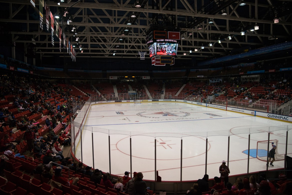 """Cornell returns to the site of the """"Miracle on Ice"""" for the third straight season."""