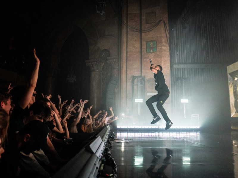 Vince Staples performs at the State Theatre of Ithaca on March 1, 2019.