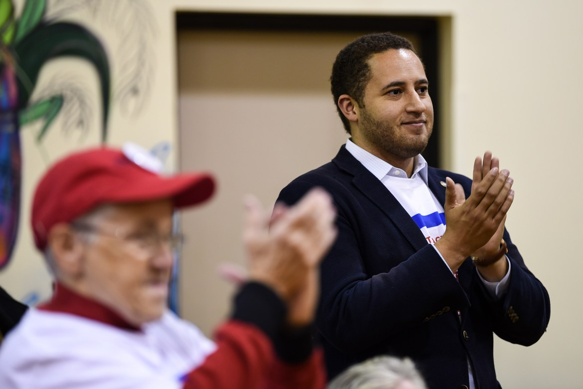 Svante Myrick '09 announced his bid for re-election early last week.