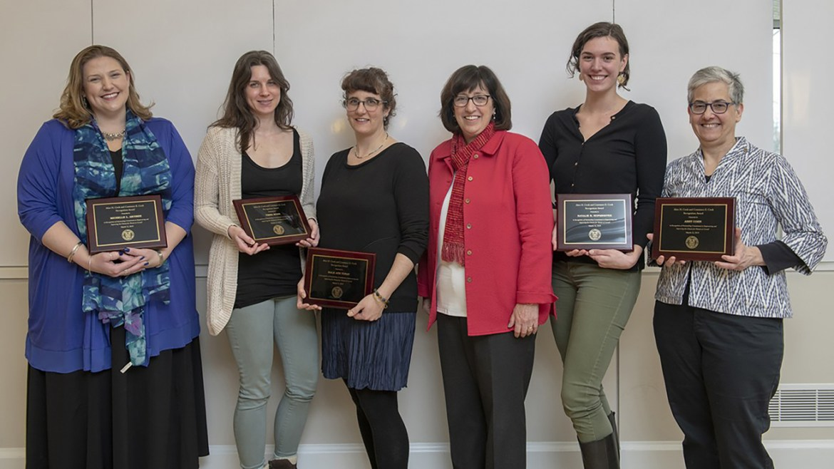 Cornell Recognizes Community Members for Supporting Women