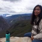 Lianna Kardeman '17 is volunteering in Peru working on water sanitation.