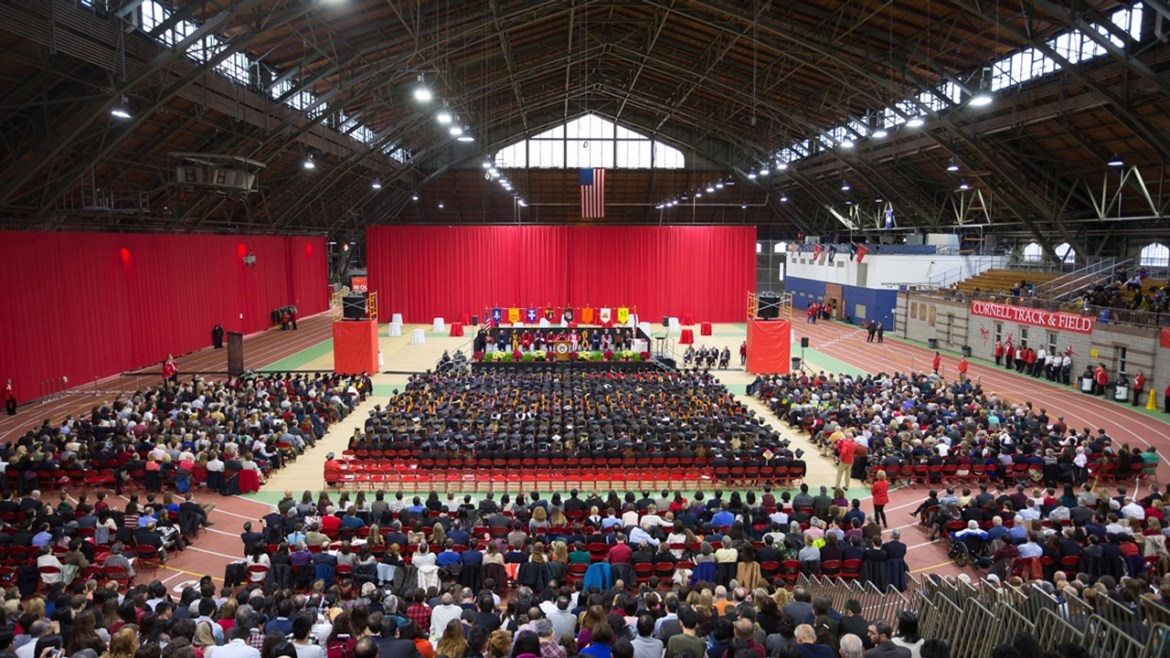 Convocation takes place on the Saturday of the graduation weekend.
