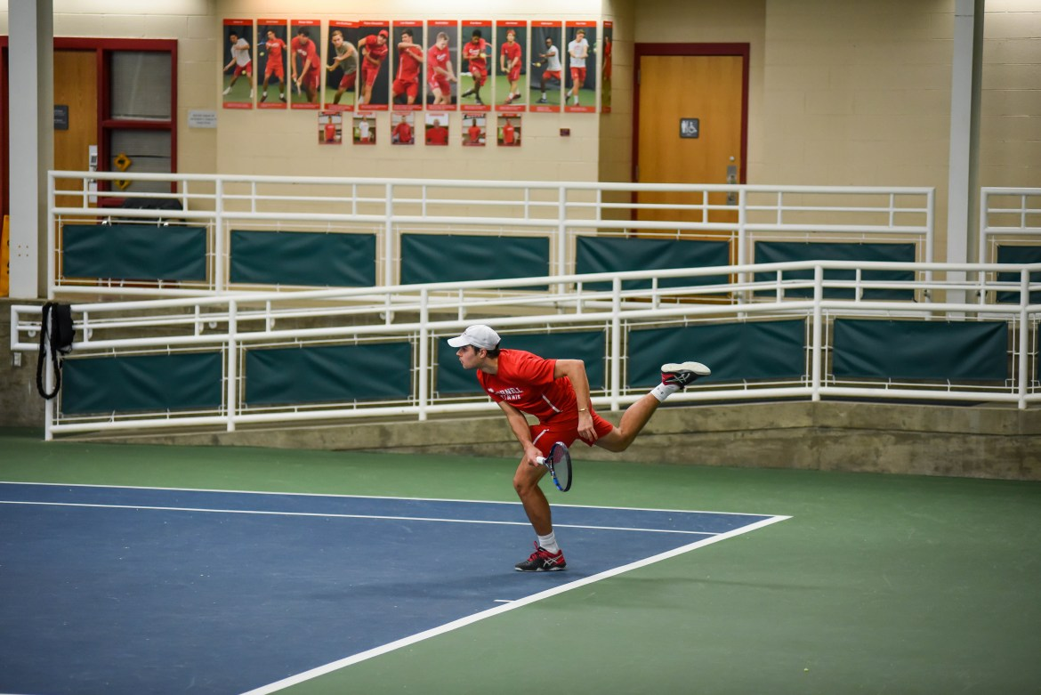 Men's tennis made adjustments going into its latest games — and, judging by the results, these changes are paying off.