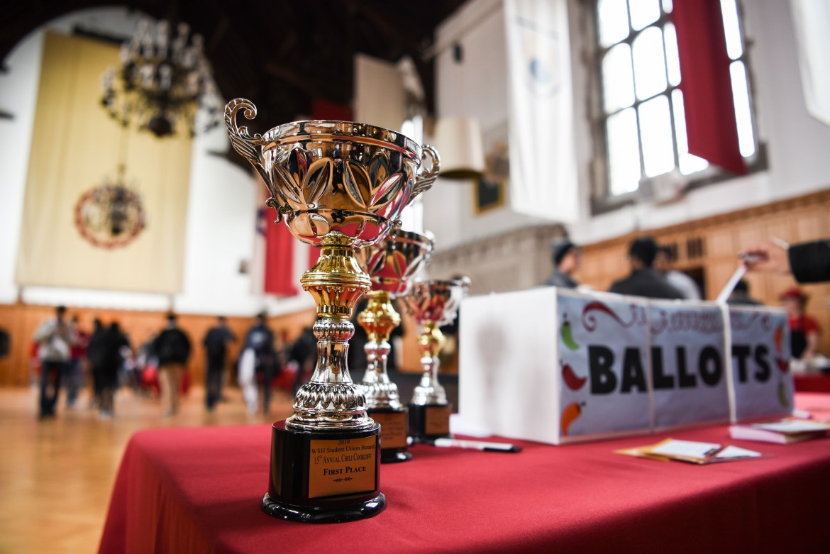 The 15th Annual Chili Cook-off at Willard Straight Hall was held on Thursday.