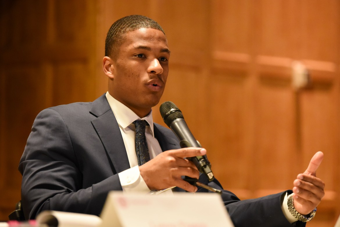 The Trustee Nominating Committee disqualified JT Baker '21, a football player, saying he violated elections rules by sending two emails to athletes and coaches about his campaign platform.