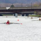Both men's crew teams competed this weekend, finishing with different results.
