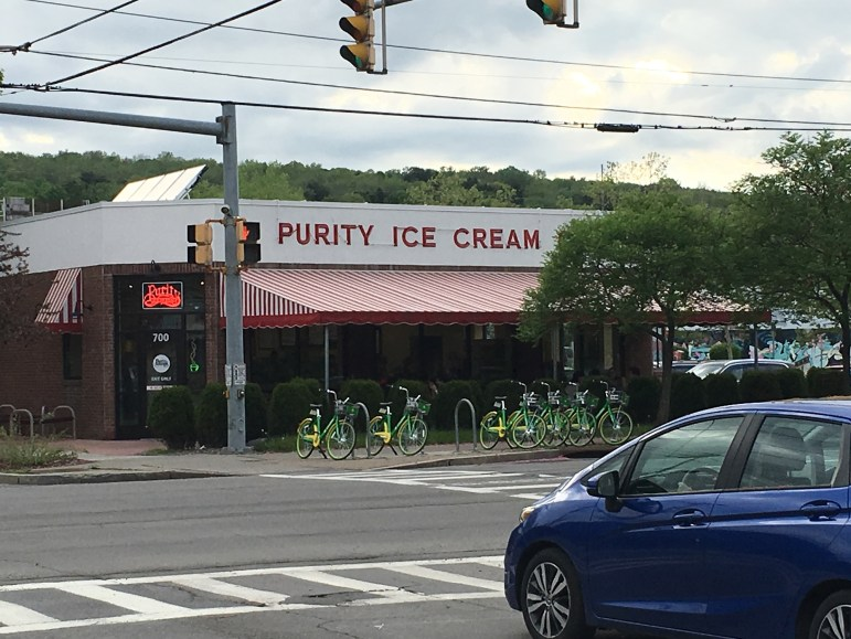 Businesses like Purity Ice Cream have struggled in the four months since many of Ithaca's 30,000 or so college students abruptly left.