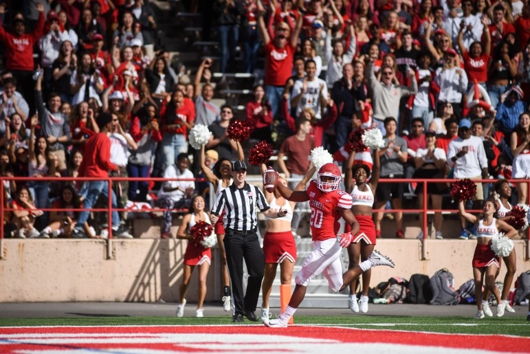 On October 5, students and alumni will gather at Schoellkopf Field for Cornell's annual homecoming football game. Before the game, drop by the tailgate in the parking lot for food and activities.
