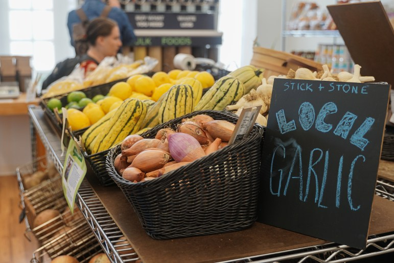 Anabel's Grocery reopened on Wednesday after closing for the Spring 2019 semester. The grocery now has a membership system, bulk food options and offers mainly plant based foods. (Michelle Zhiqing Yang/Sun Staff Photographer)
