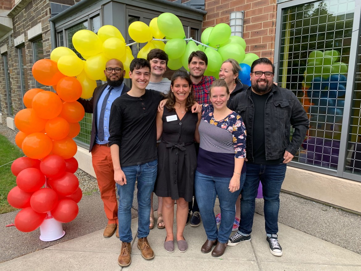The recent opening of the Loving House is one of three milestones the LGBTQ alumni group plans to celebrate this homecoming weekend.