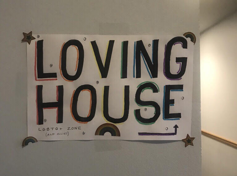 This fall, a quarter-century of LGBTQ+ activism on campus finally came to fruition with the opening of Loving House in Mews Hall.