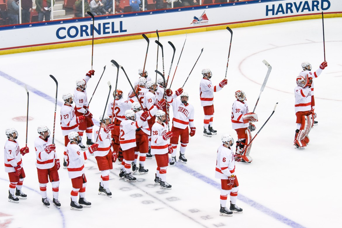 After two exhibition contests, Cornell will kick off its regular season against Michigan State on the road.