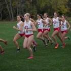 The women's team notched 329 points, good for 10th place at the Lehigh Paul Short Run.